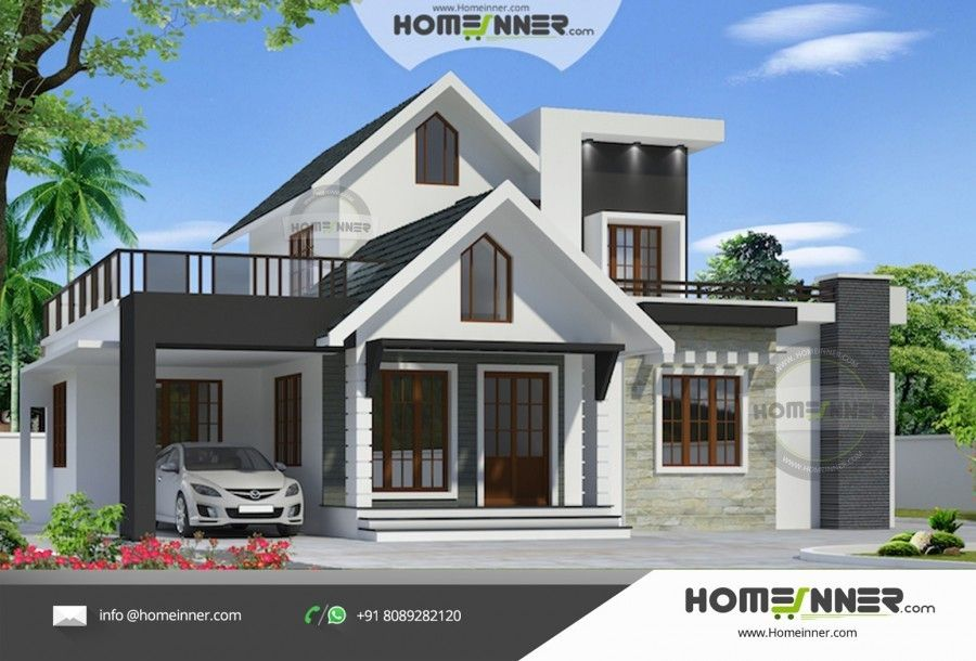 1490 sq ft 3 Bedroom Affordable House