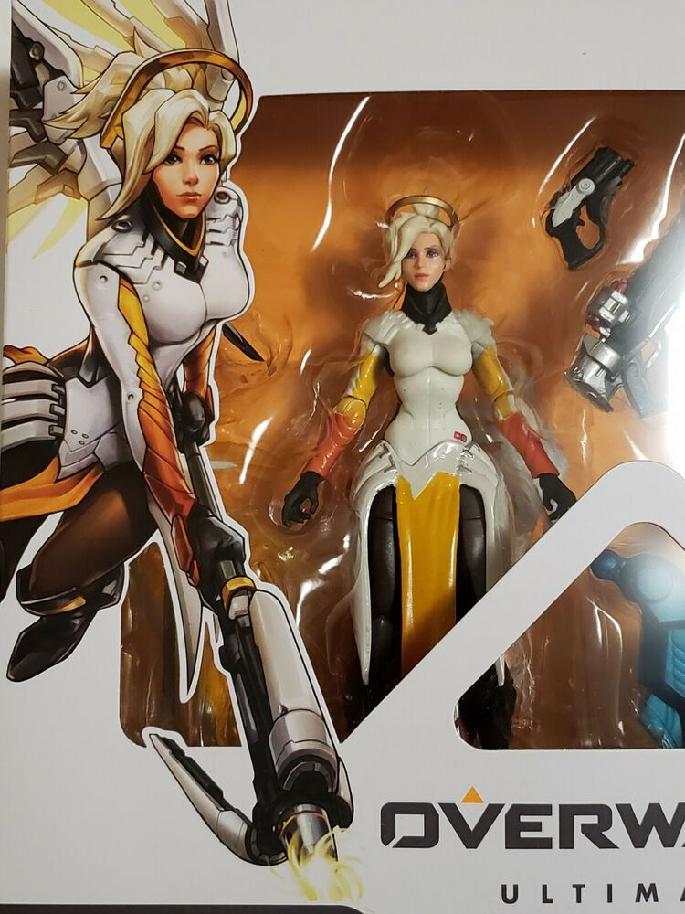 "HASBRO OVERWATCH ULTIMATES 6/"" MERCY ANGE /& PHARAH 2 PACK ACTION FIGURES"