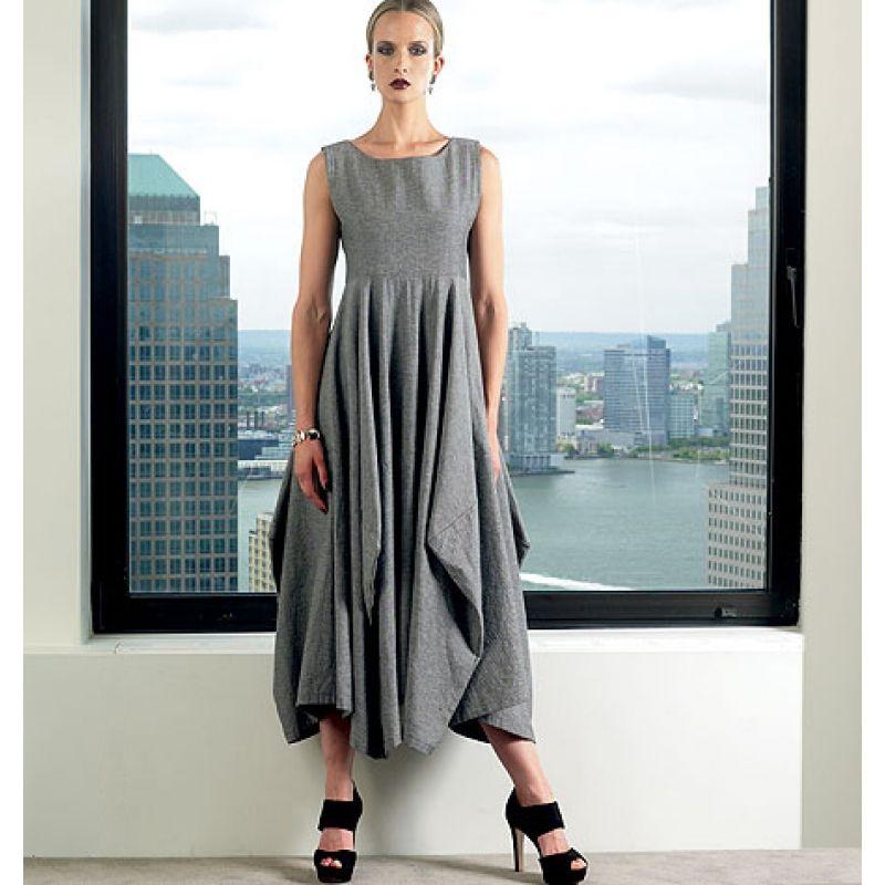 Vogue 1312 Designerkleid Lynn Mizono Gr. 34-50 in 2018 | Nähen ...