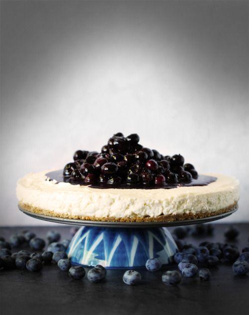 No-Bake Blueberry Goat Cheese Cheesecake with Gingersnap  Mein Blog: Alles rund um die Themen Genuss & Geschmack  Kochen Backen Braten Vorspeisen Hauptgerichte und Desserts