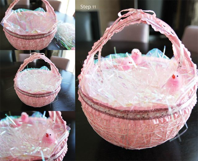 Diy easter baskets i did this back in 1990 with my sons cub scout 60 diy easter basket ideas for your freshly dyed easter eggs negle Choice Image