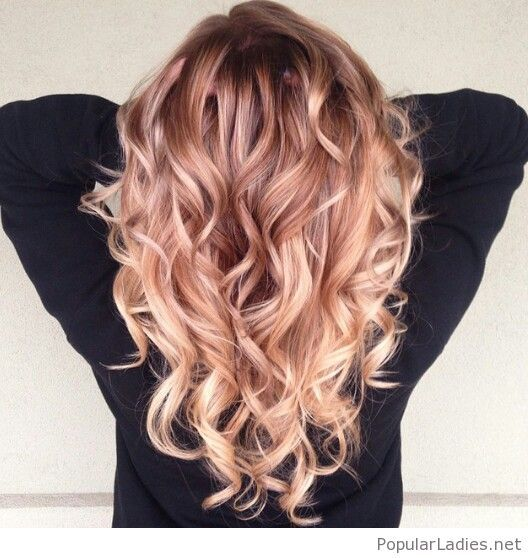 Amazing strawberry blonde ombre hair color hair - Ombre hair haarfarbe ...