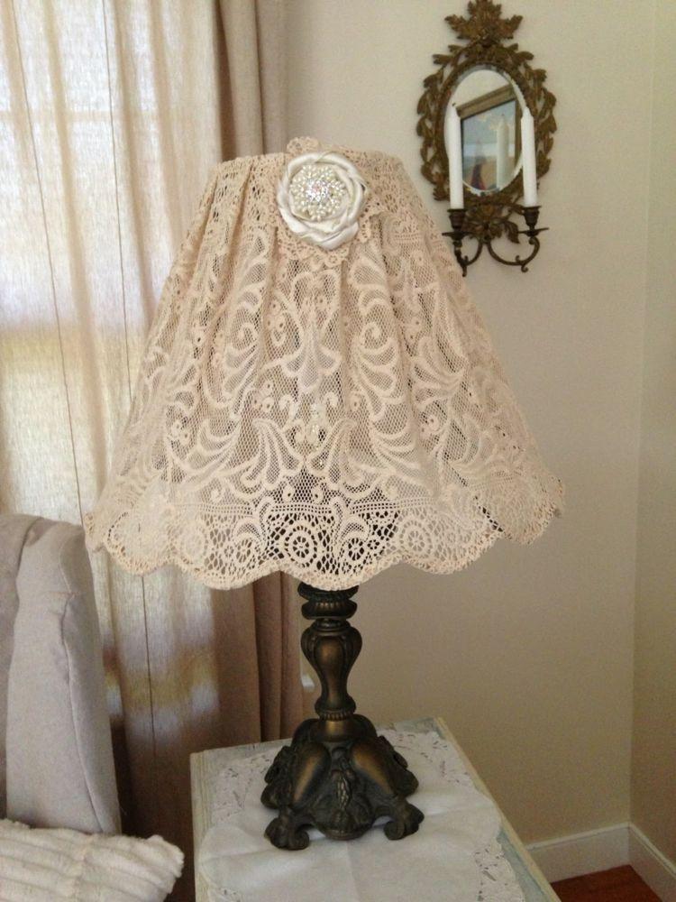 Lampenschirme selber machen Ideen Lampen Pinterest - wohnideen selbermachen jahrgang