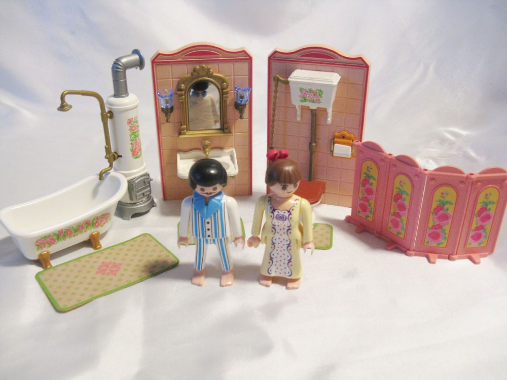 Badezimmer Playmobil ~ Playmobil victorian mansion bathroom doll house