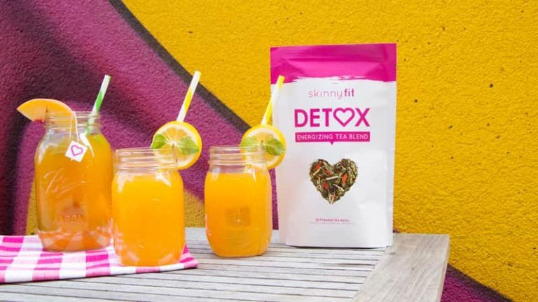 How to make a healthy sweet peach detox tea with less