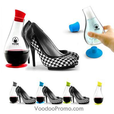 Design bottle with your logo imprinted on it.   http://www.voodoopromo.com/top-du-sorcier-des-fecirctes.html