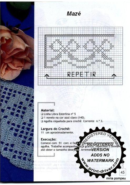 Gallery.ru / Foto n º 126 - crochet ribete de Toallas - natalya111 ...