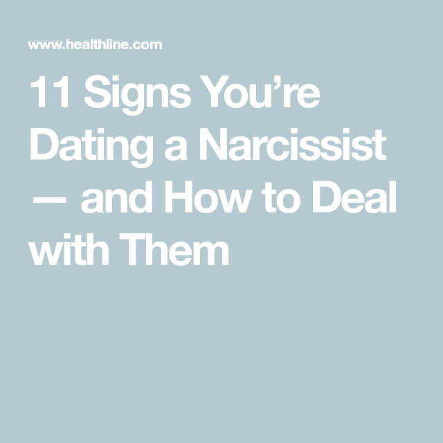 How to spot a narcissist when dating dating african woman