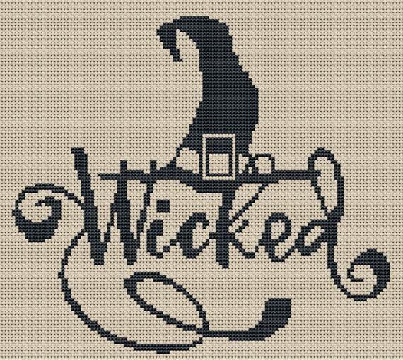 Photo of 15 Witchy Cross Stitch Patterns