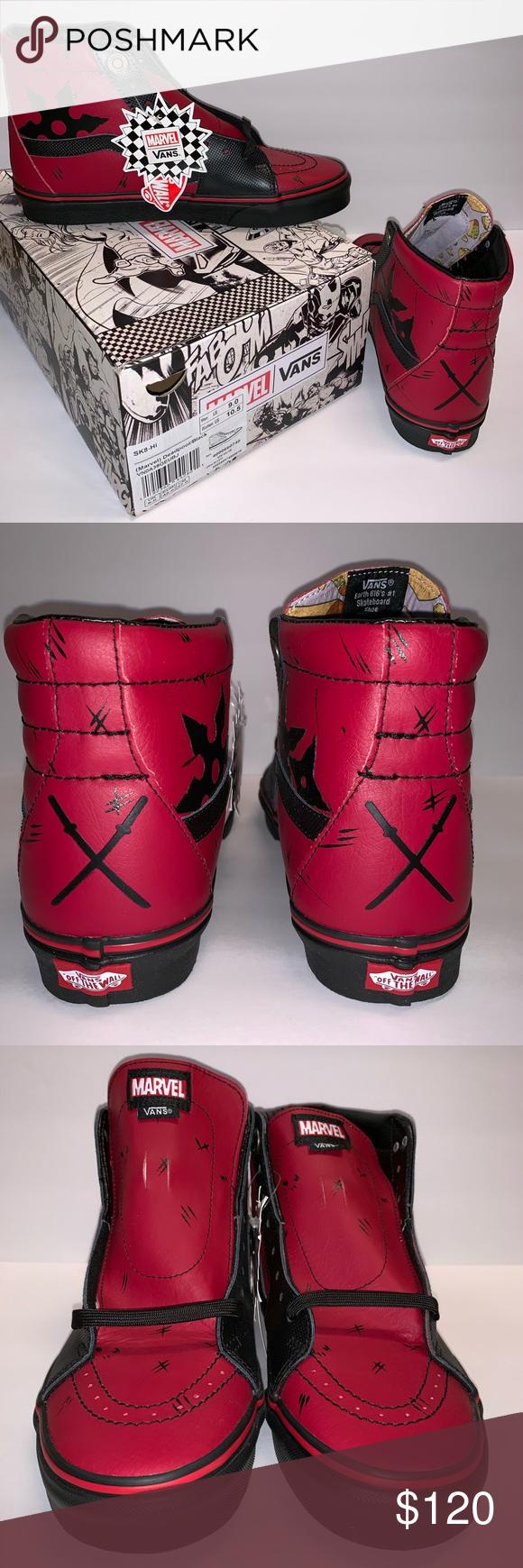 Vans X Marvel SK8 Hi   Marvel shoes, Sneakers men, Trending