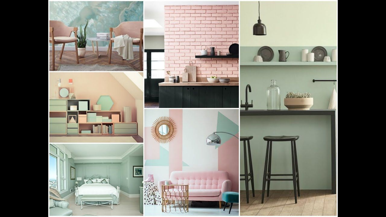 25 amazing pastel interiors and biggest pastel color on home office color trends id=26176