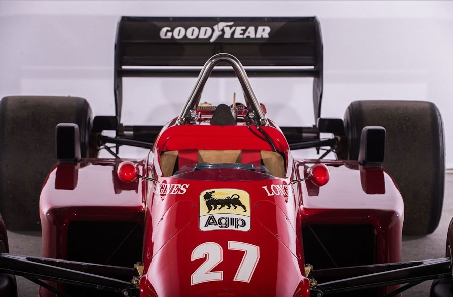 For Sale 1985 Ferrari F1 156/85 Ferrari f1, Ferrari
