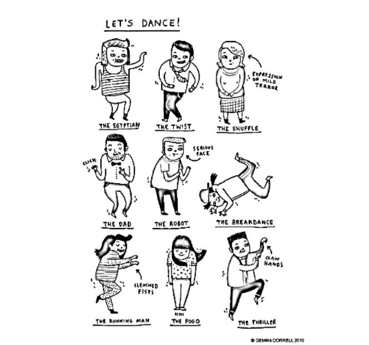Let \'s Dance | Hip Hop Coloring Book compiled by Jamee Schleifer ...