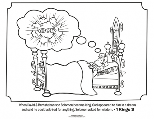 King Solomon   Bible Coloring - Old Testament   Pinterest   Escuela ...
