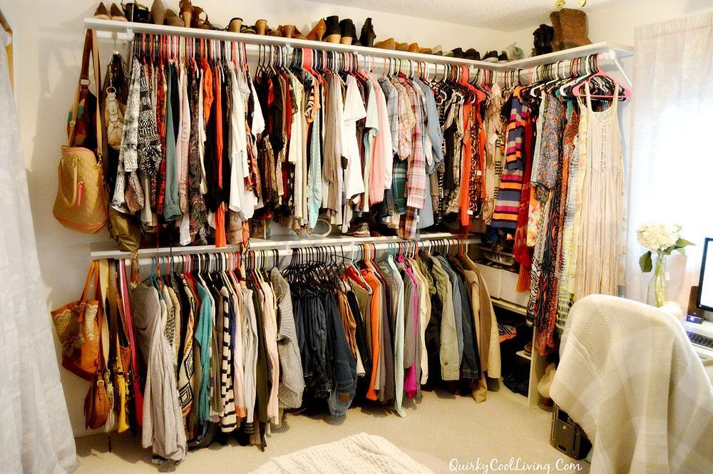 Spare Bedroom Turned Walk In Closet Closet Rooms