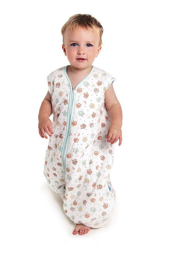 ganzjahres schlafsack mit f en eule kinderkleidung schlafsack baby und schlummern. Black Bedroom Furniture Sets. Home Design Ideas