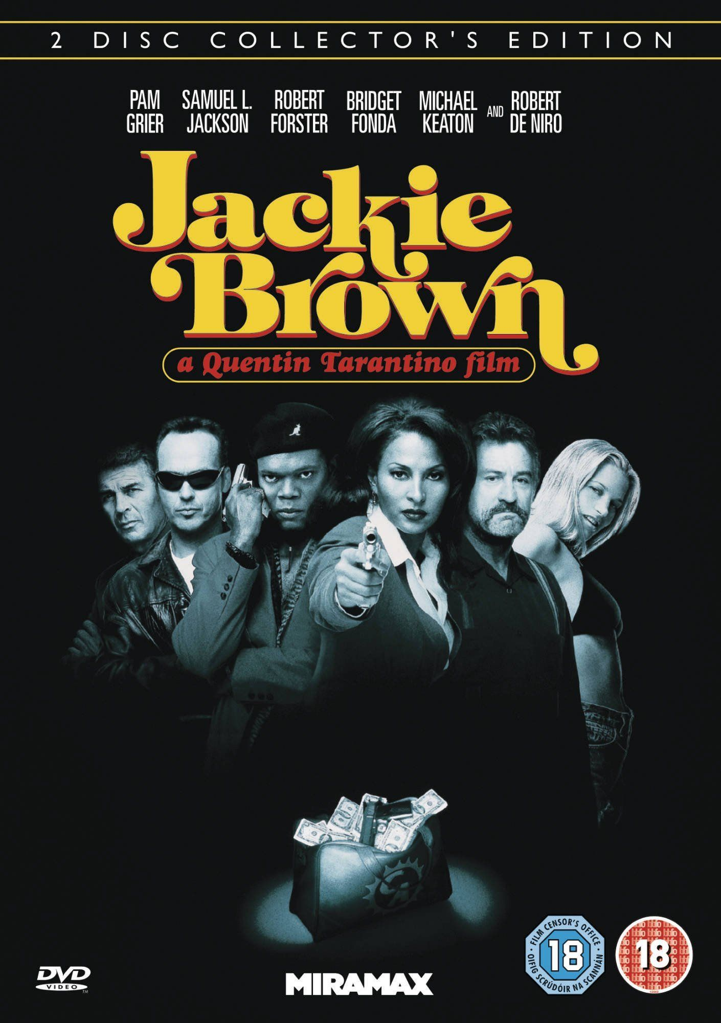 Jackie Brown 1997 based on the novel by Elmore Leonard directed by Quentin Tarantino starring Pa