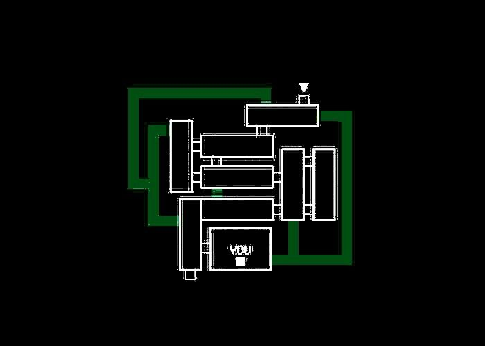 The brightened image of the map for FNAF 3 | Five Nights At