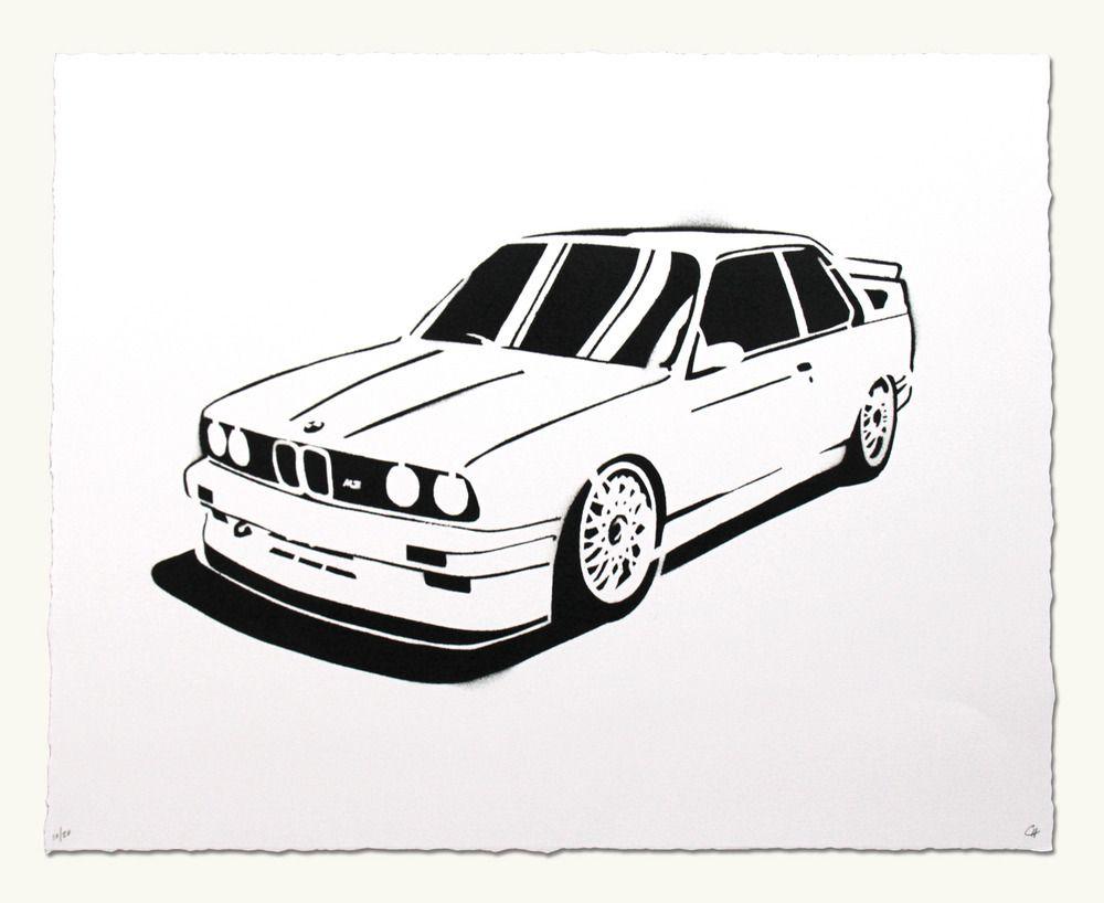 Ausmalbilder Von Cars : Image Of Bmw E30 M3 B M W Pinterest