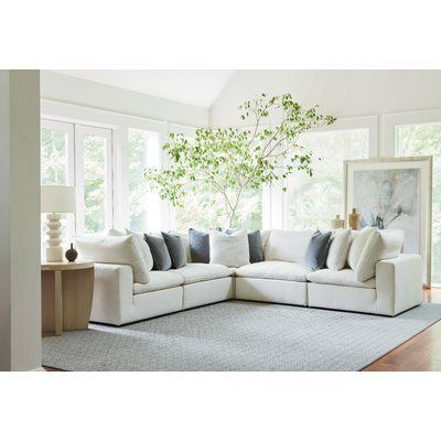 Modern Rustic Interiors Fisher Sectional With Images
