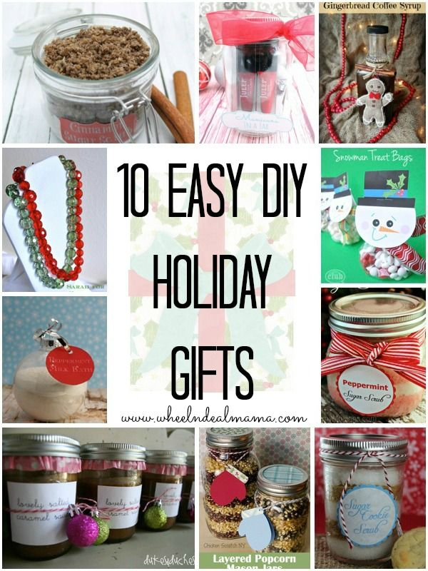 10 Easy Do-it-Yourself Holiday Gifts | Diy holiday gifts ...
