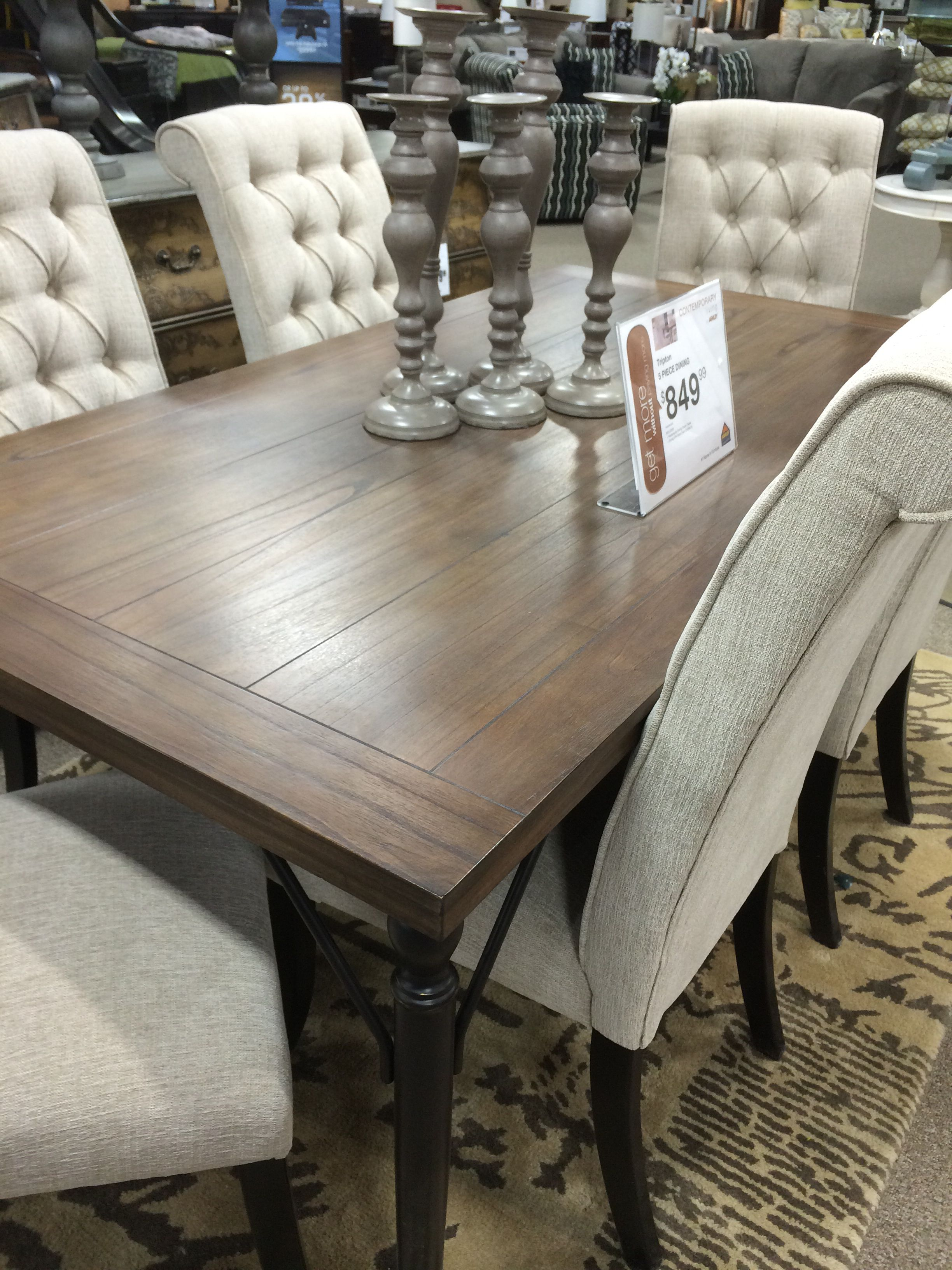 Tripton Table  Fallbrook Home Ideas  Home Decor Dining