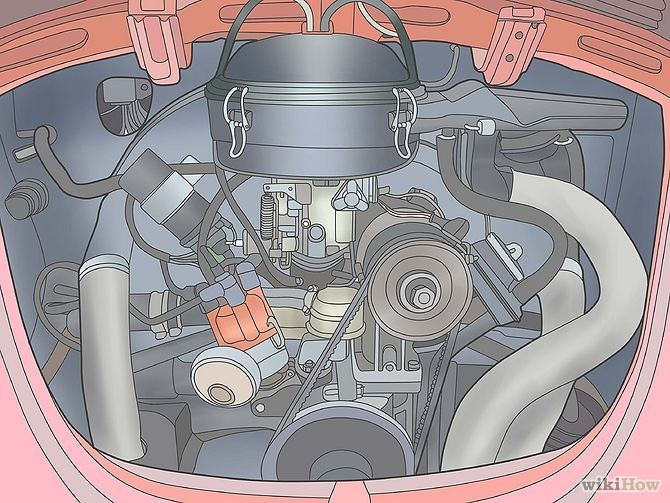 Adjust The Automatic Choke On An Aircooled Volkswagen Vw Beetle Rh Pinterest Air Cooled Clutch Wiring Diagram: Air Cooled Vw Engine Wiring Diagram At Eklablog.co