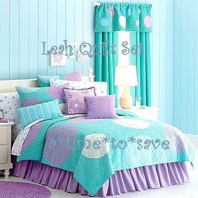 Girls Bedroom Purple And Blue girls purple green bedroom | teal and purple bedding for bedroom