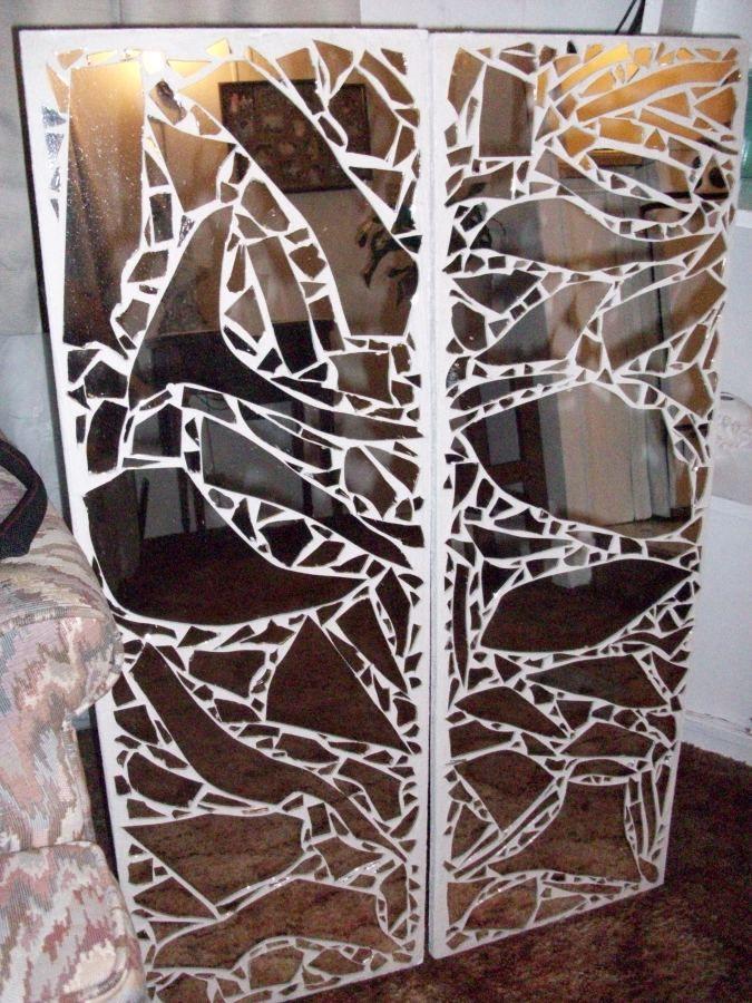 Mosaic Mirror Craft | Love u Mosaic | Mirror crafts ...
