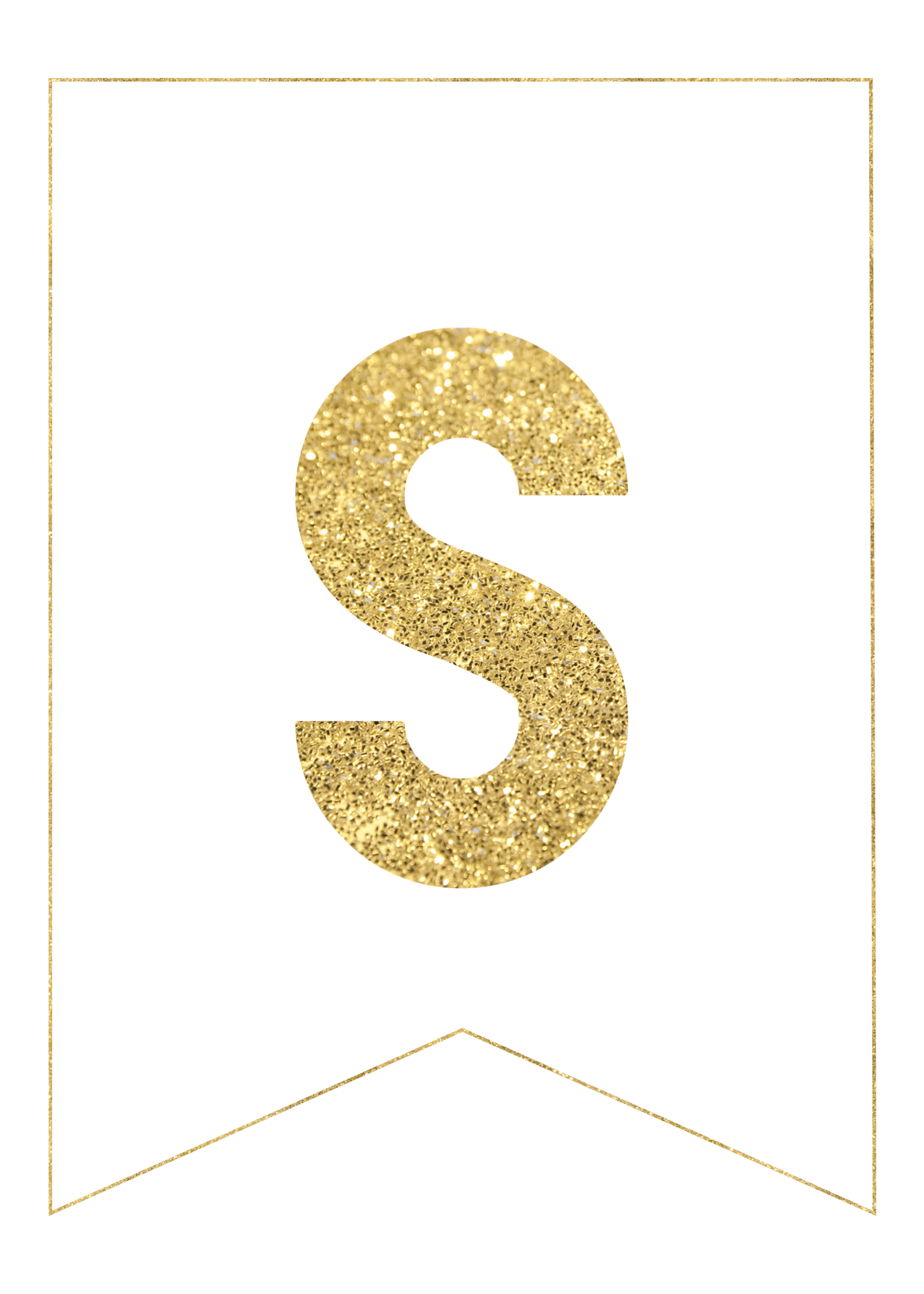 gold free printable banner letters party ideas printable banner