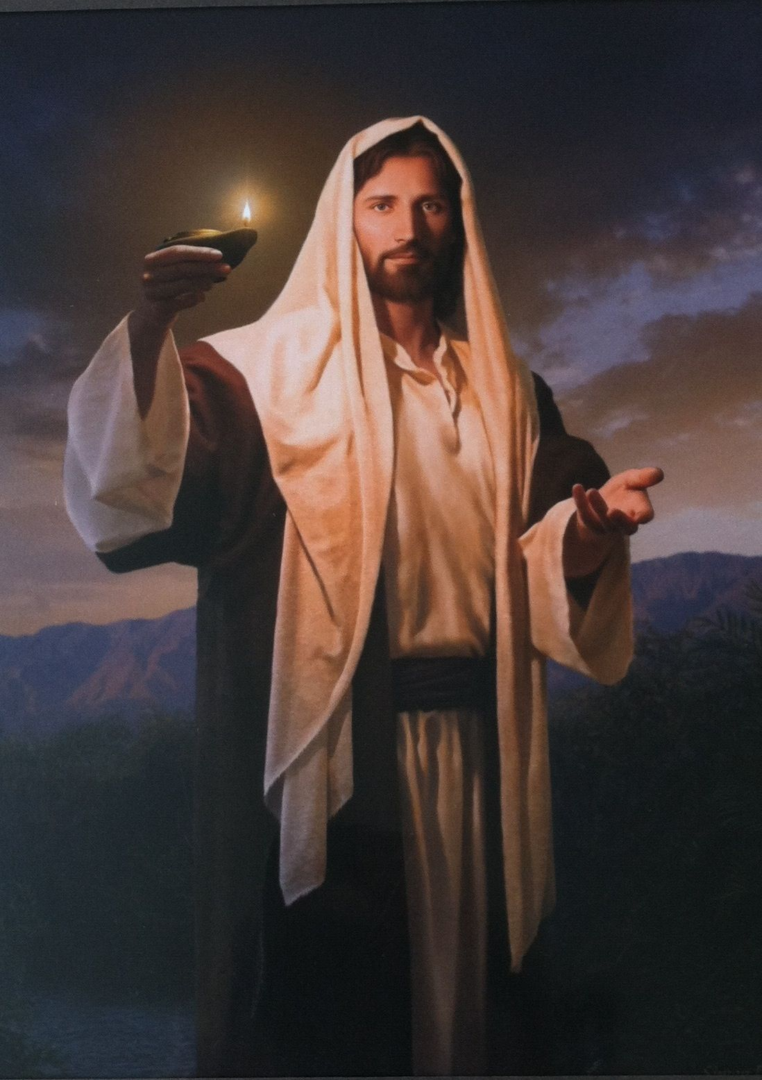 """Lead, Kindly Light"" by Simon Dewey - one of my favorite ... Jesus Christ Lds Simon Dewey"