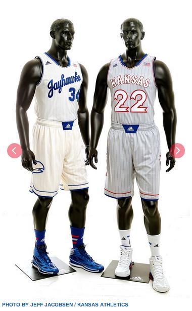 Kansas Jayhawks basketball team unveils