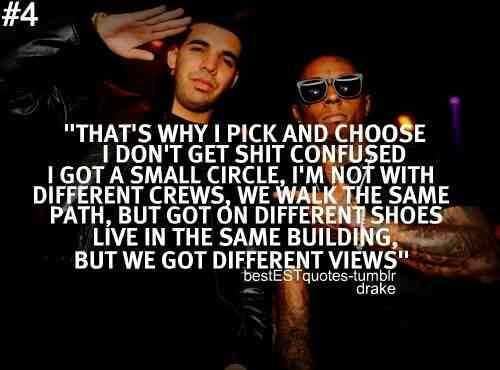 Drake Quotes About Friends Drake Quotes Quotes About Haters