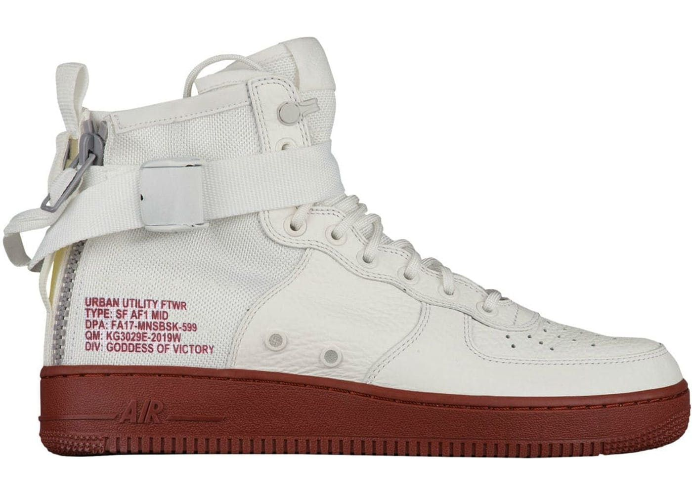 b8befcb6 Check out the SF Air Force 1 Mid Ivory Mars Stone available on StockX