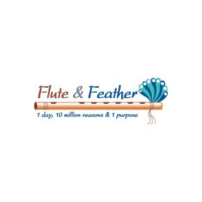 Logo Design : Flute & Feather