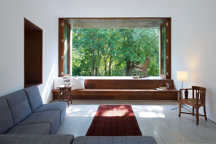 Alibaug Indian Retreat With A Stream Running Through The Middle Pleasing Indian Seating Designs Living Room Design Ideas