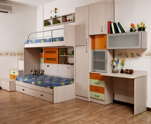 beautiful fresh kids bedroom chairs | attractive and beautiful bedroom with 2 beds and a study ...