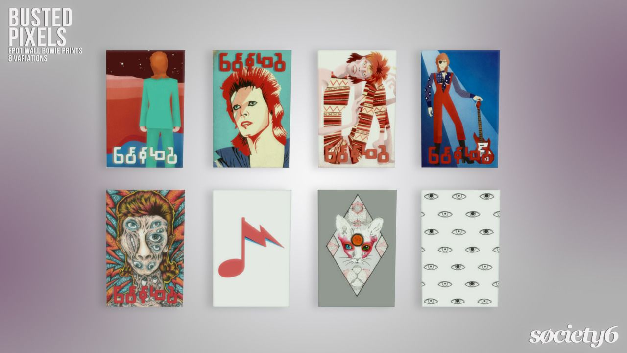 BustedPixels | EP01 Get To Work Bowie Prints G'day, here is