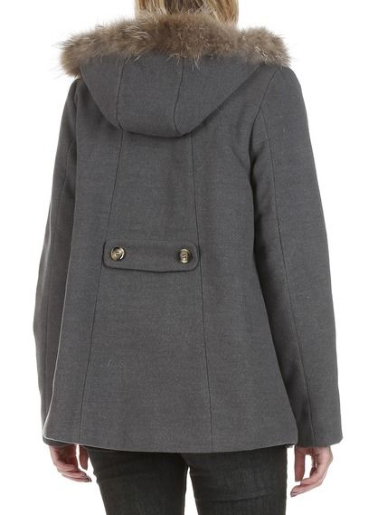 52e78acfc7b87 Duffle coat avec capuche Gris by BEST MOUNTAIN   Одежда