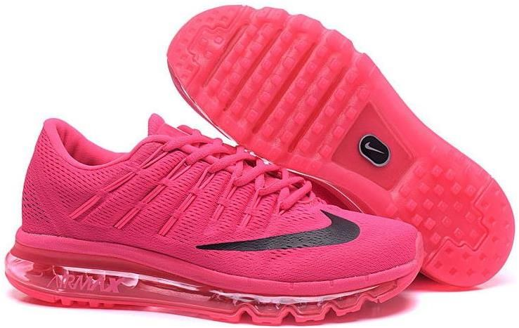 huge discount 375ff c7ce6 Flyknit Air Max 2016 All Pink Black   CHEAP NIKE AIR MAX 2016 FOR ...