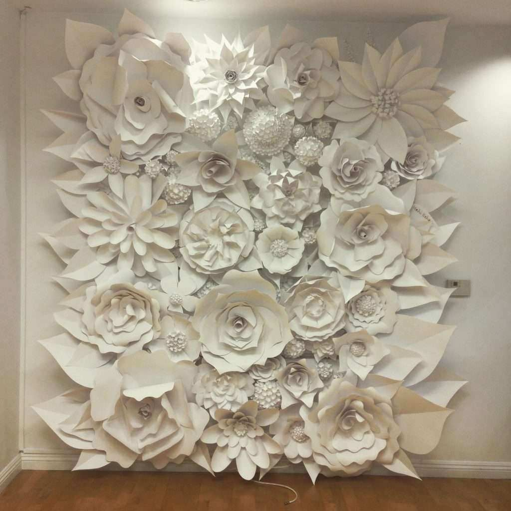 Porcelain Flower Wall Decor Inspirational 3d Paper Flower Wonder Wall Collection And Sculptures Art Walldec Flower Wall Decor 3d Flower Wall Decor Flower Wall