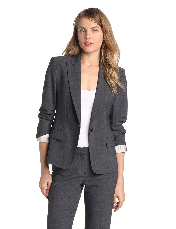 Theory Women's Gabe Urban Button Blazer >>> This is an Amazon Affiliate  link.