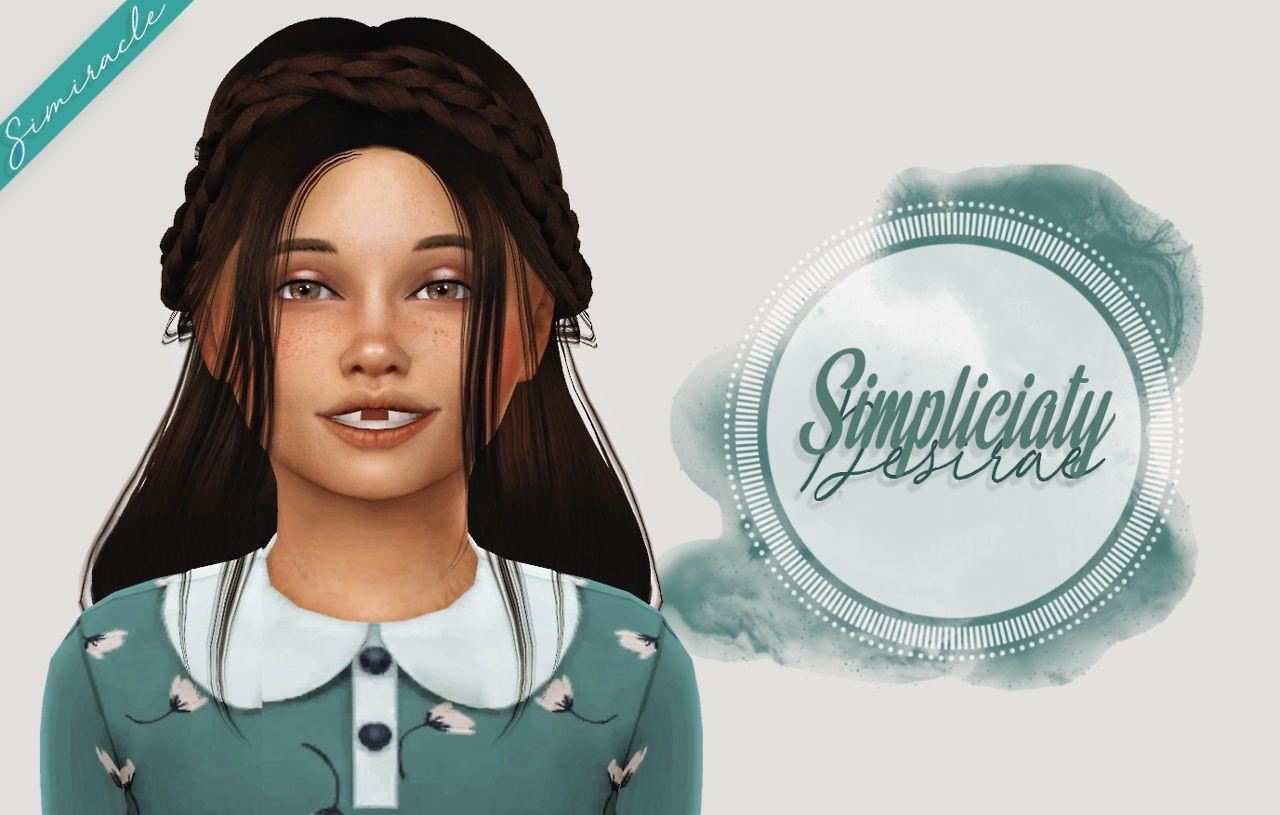 Sims 4 Hairs ~ Simiracle: Simpliciaty`s Desirae hair