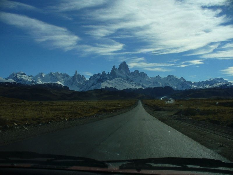 One of our customers thought of us as they drove up on the breathtaking Patagonia mountain range and shared this photo.