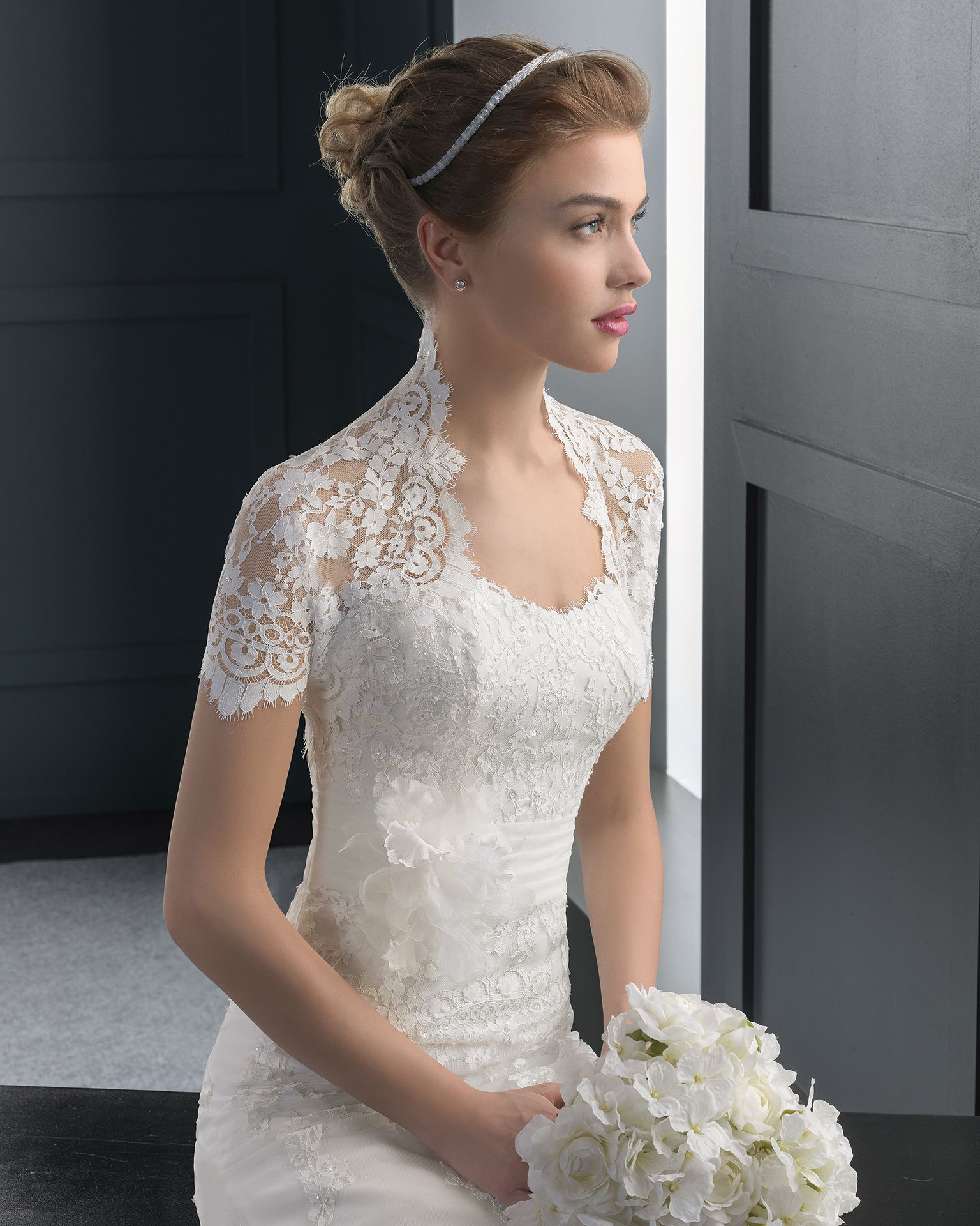 Rania novia corte sirena | Hochzeit Outfit | Pinterest | Traum ...