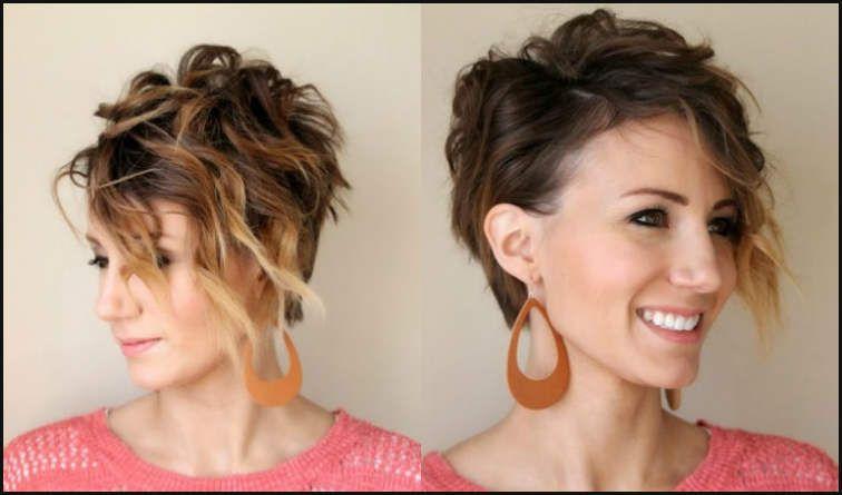 Frisuren fur schulterlange haare mit locken