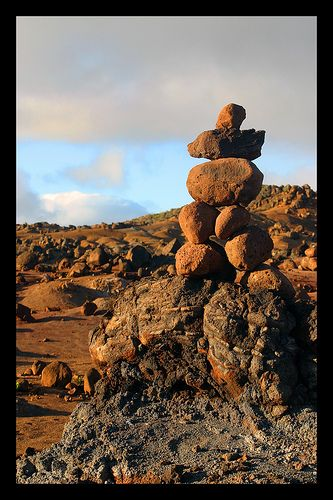 The Garden of the Gods, Lanai, Hawaii