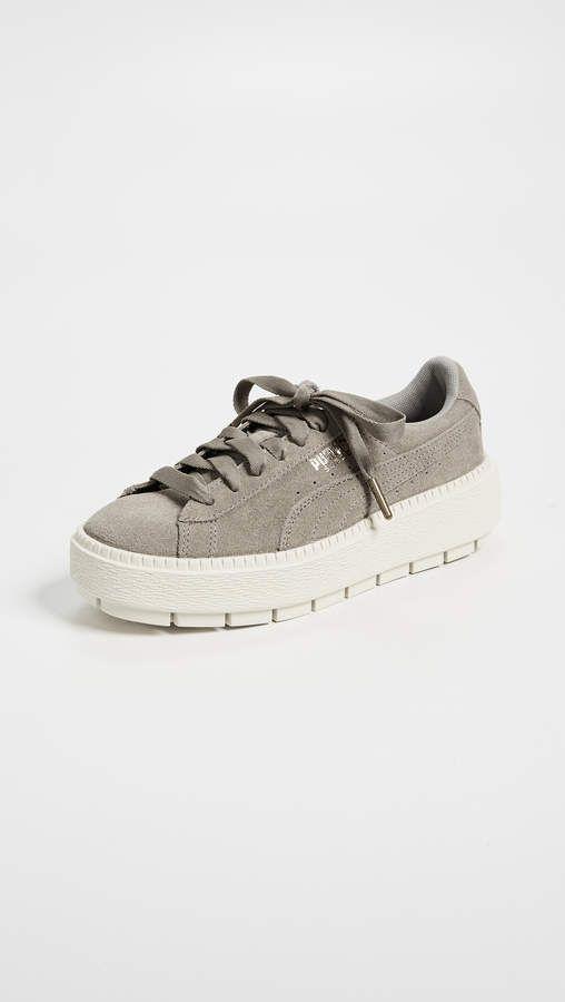 Puma Suede Platform Trace Sneakers 025dcf72d82