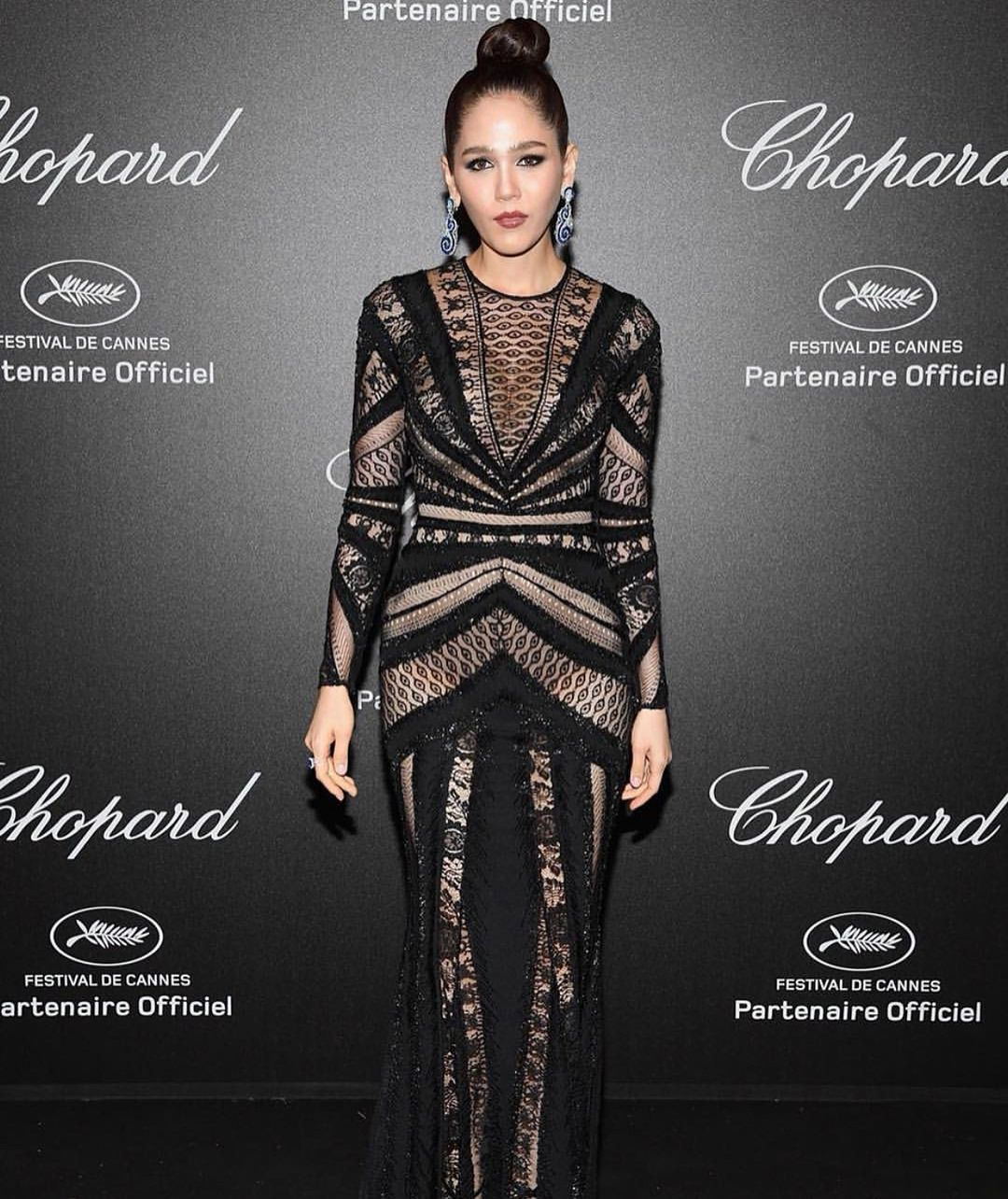 Chomismaterialgirl dropped jaws at the chopard secretnight party