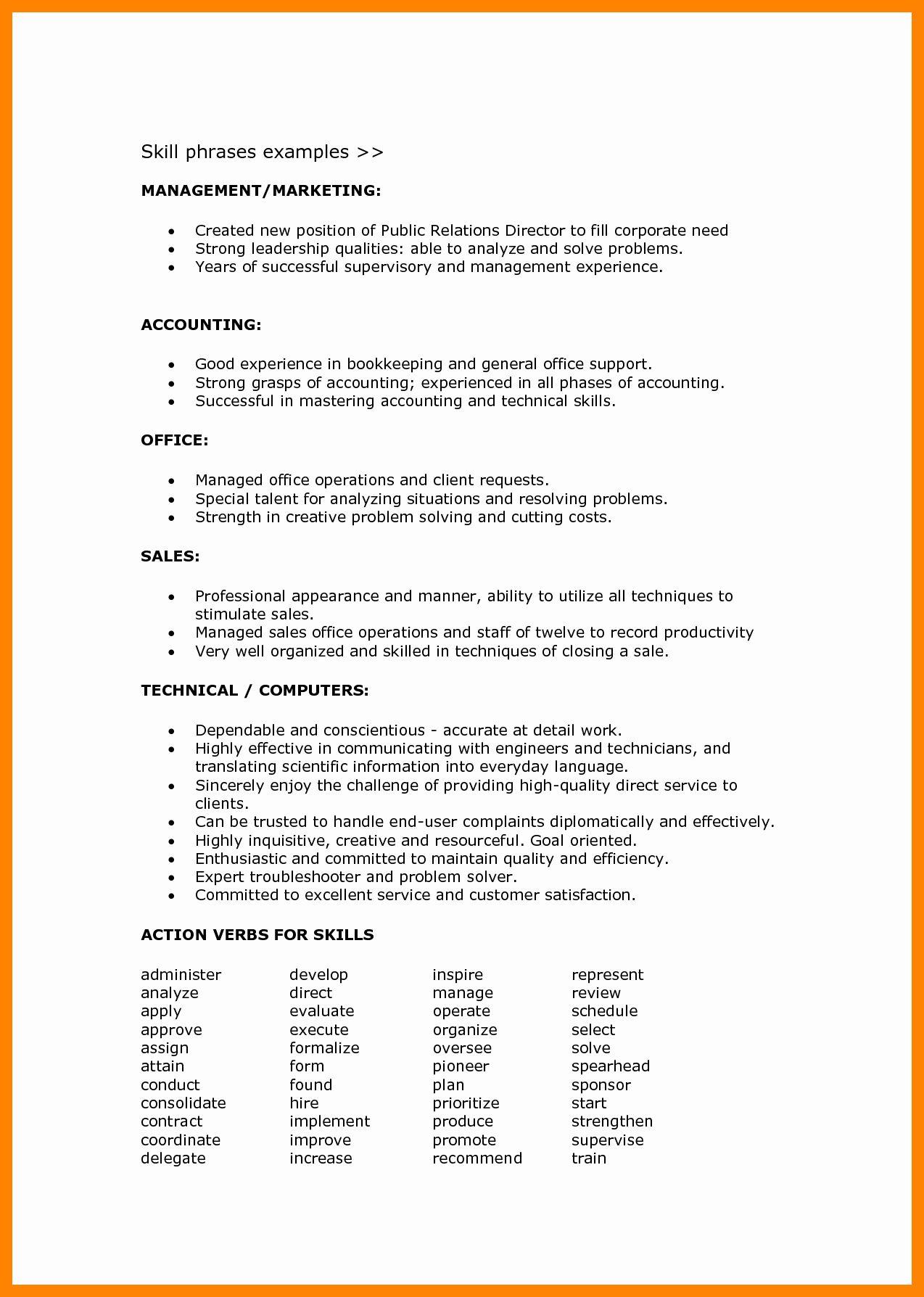 Resume Language Skills Example Lovely Language Skills In Resume Describing Language Skills In 2020 Resume Examples Job Resume Examples Resume Skills